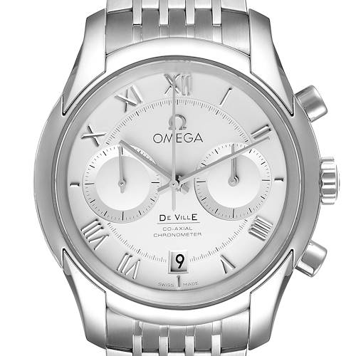 Photo of Omega DeVille Co-Axial Chronograph Mens Watch 431.10.42.51.02.001 Unworn