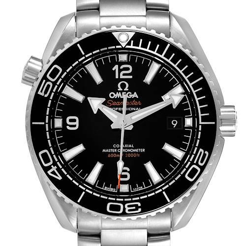 Photo of Omega Planet Ocean 600m 39.5 Steel Mens Watch 215.30.40.20.01.001 Box Card