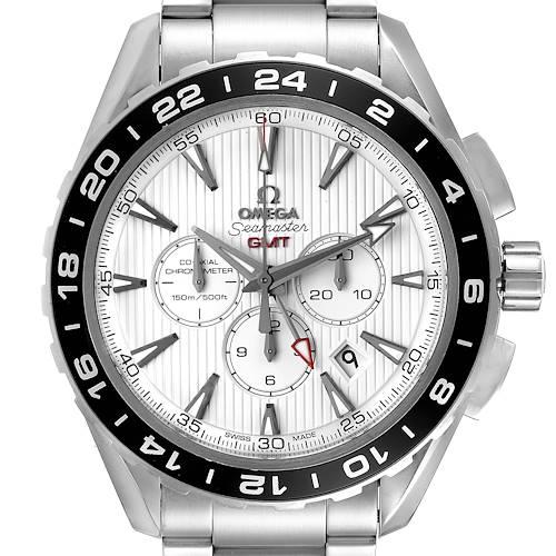 Photo of Omega Seamaster Aqua Terra GMT Mens Watch 231.10.44.52.04.001 Box Card