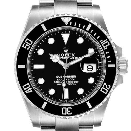 Photo of Rolex Submariner Cerachrom Bezel Oystersteel Mens Watch 126610 Unworn