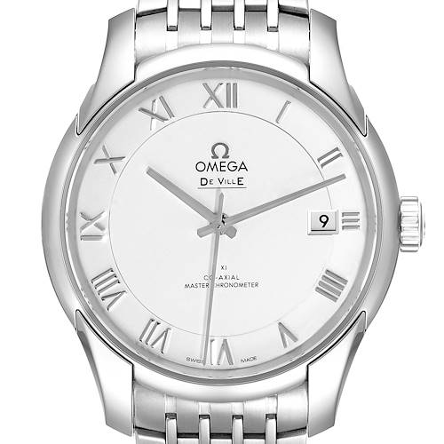Photo of Omega DeVille Co-Axial 41mm Silver Dial Watch 433.10.41.21.02.001 Box Card