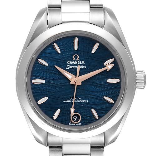 Photo of Omega Seamaster Aqua Terra Steel Ladies Watch 220.10.34.20.03.001 Unworn