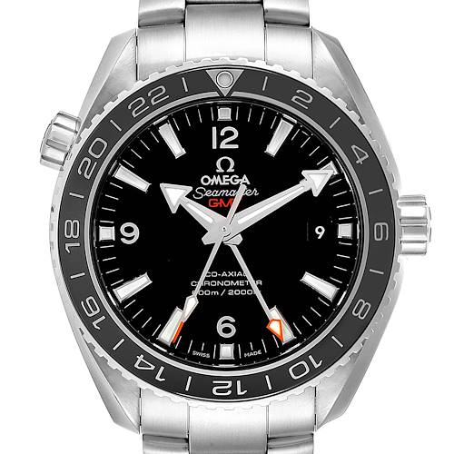 Photo of Omega Seamaster Planet Ocean GMT Watch 232.30.44.22.01.001 Card