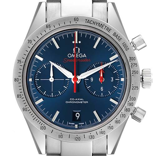 Photo of Omega Speedmaster 57 Co-Axial Chronograph Watch 331.10.42.51.03.001 Box Card