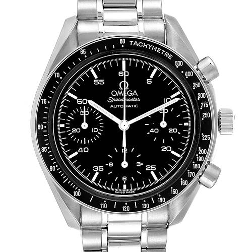 Photo of Omega Speedmaster Reduced Hesalite Crystal Automatic Mens Watch 3510.50.00