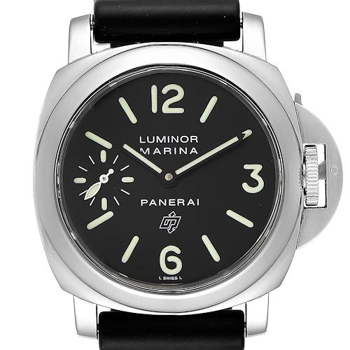 Photo of Panerai Luminor Base Logo 44mm Steel Mens Watch PAM000 PAM00000