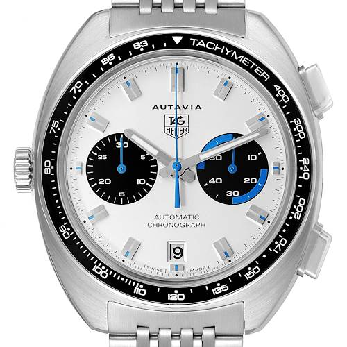 Photo of Tag Heuer Autavia Automatic Chronograph Steel Mens Watch CY2110
