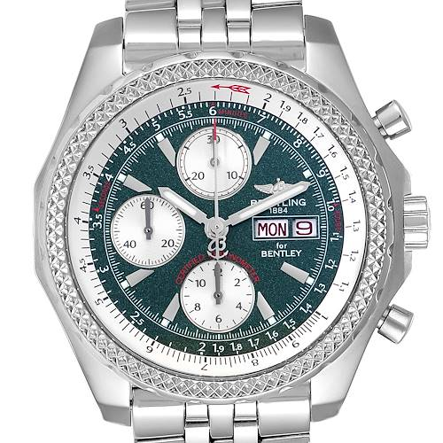 Photo of Breitling Bentley Motors GT Green Special Edition Mens Watch A13362