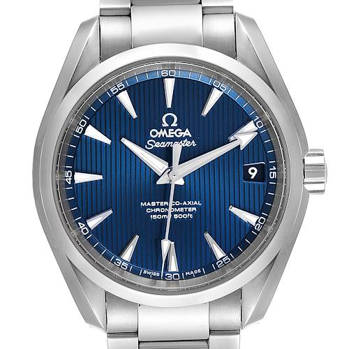 Photo of Omega Seamaster Aqua Terra Master Co-Axial Mens Watch 231.10.39.21.03.002
