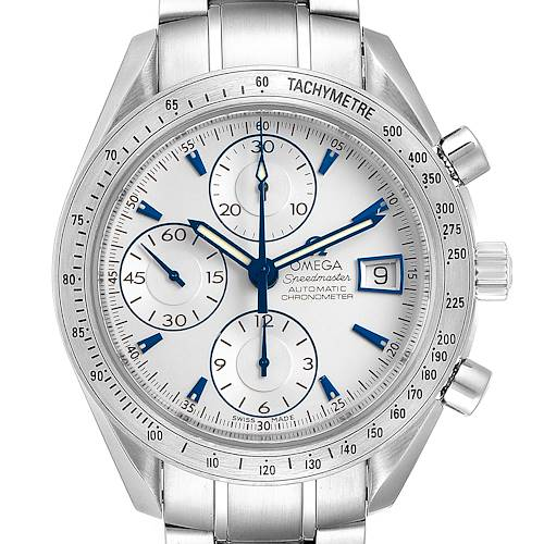 Photo of Omega Speedmaster Silver Dial Chronograph Mens Watch 3211.32.00 Card