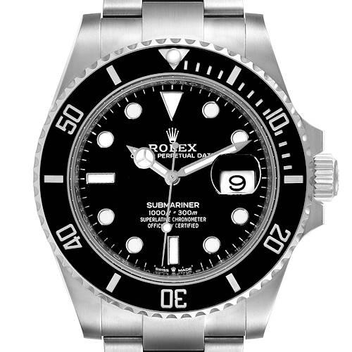 Photo of Rolex Submariner Cerachrom Bezel Oystersteel Mens Watch 126610