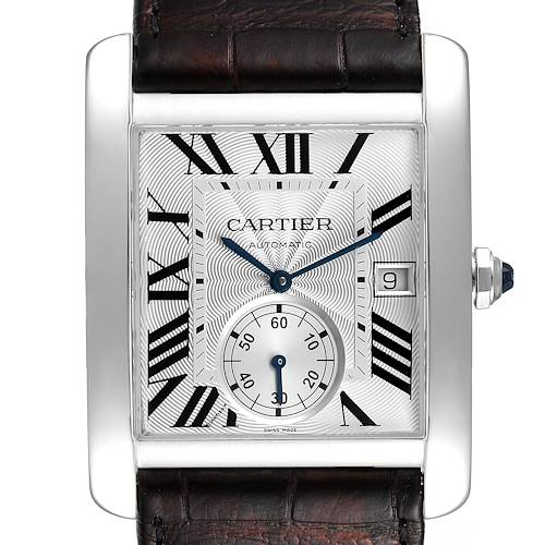 Photo of NOT FOR SALE Cartier Tank MC Silver Dial Automatic Steel Mens Watch W5330003 PARTIAL PAYMENT