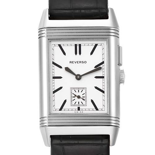 Photo of Jaeger LeCoultre Grande Reverso Duo Day Night Steel Watch 278.8.54 Q3788570