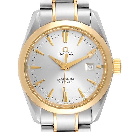 Photo of Omega Seamaster Aqua Terra Midsize Steel Yellow Gold Watch 2318.30.00