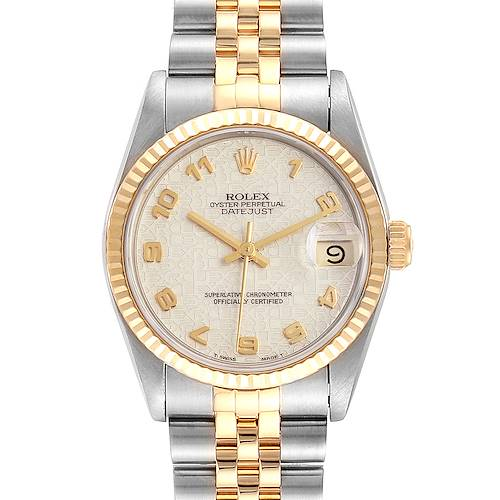 Photo of Rolex Datejust Midsize 31 Steel Yellow Gold Ladies Watch 68273
