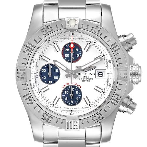 Photo of Breitling Super Avenger Mens Watch A13381 Box Papers