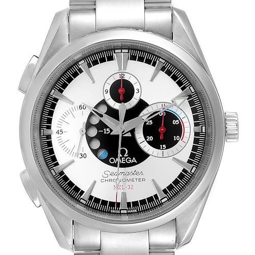 Photo of Omega Seamaster Aqua Terra NZL-32 Regatta Chronograph Watch 2513.30.00 Card