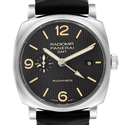 Photo of Panerai Radiomir 1940 Black Dial 45mm Steel Mens Watch PAM00627