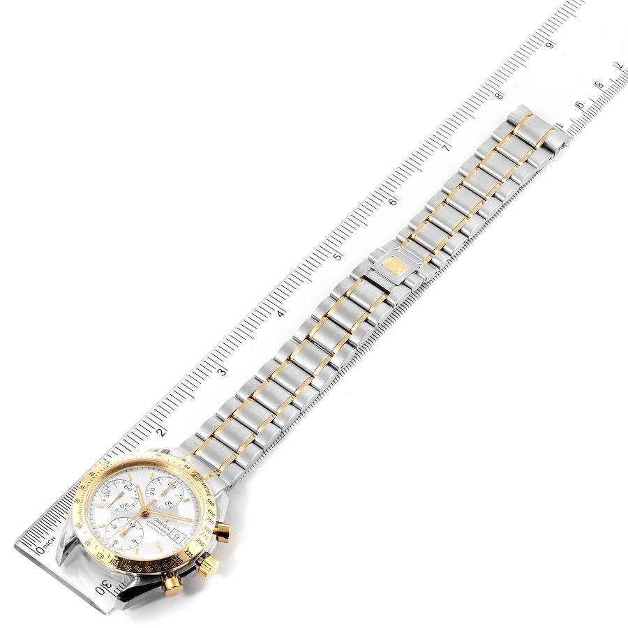 Omega Speedmaster Date Steel Yellow Gold Chronograph Watch 3311.20.00 SwissWatchExpo