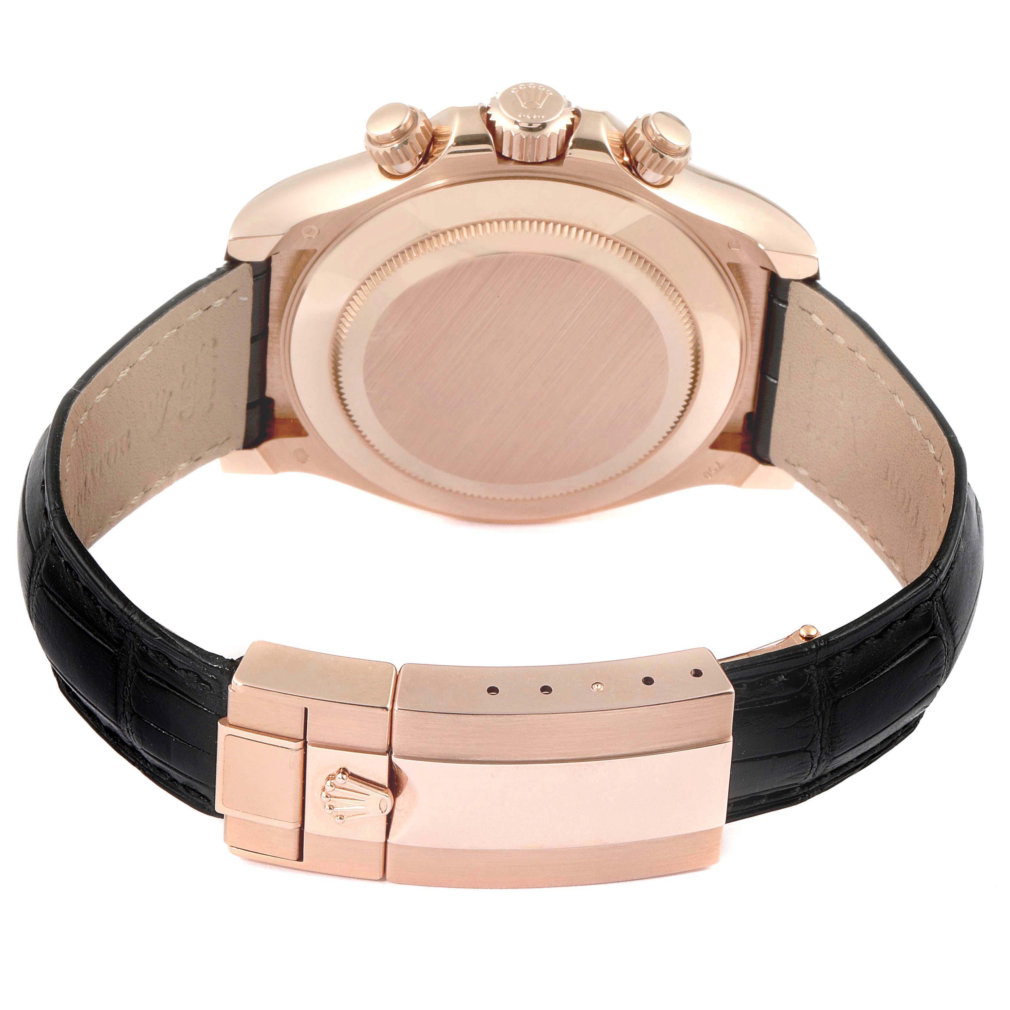 Rolex Cosmograph Daytona Rose Gold Everose Mens Watch 116515 Box Card SwissWatchExpo