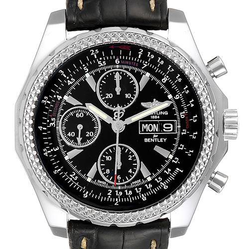 Photo of Breitling Bentley Motors GT Special Edition Mens Watch A13362 Box
