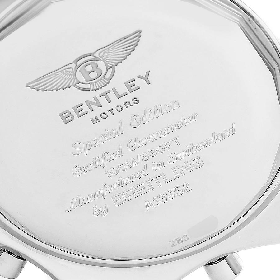 Breitling Bentley Motors GT Special Edition Mens Watch A13362 Box SwissWatchExpo