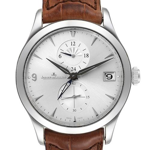 Photo of Jaeger Lecoultre Master Dual Time Automatic Watch 174.8.05.S Q1628430