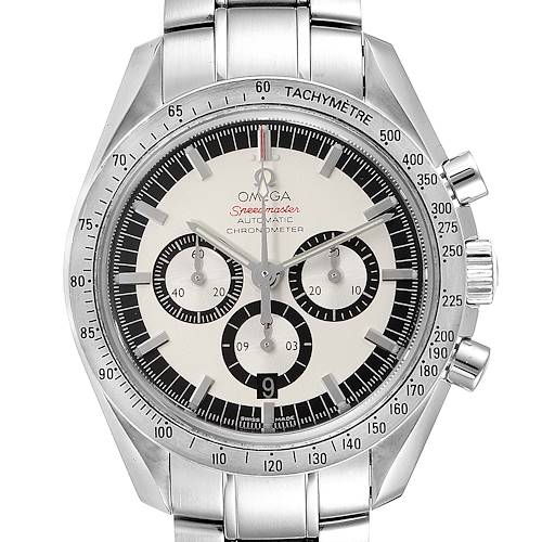 Photo of Omega Speedmaster Schumacher Legend Limited Edition Watch 3506.31.00 Card
