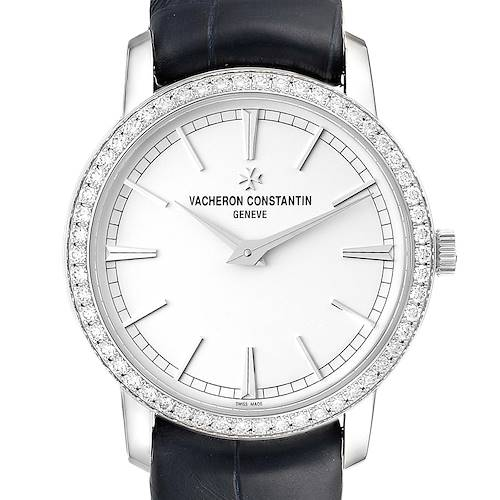 Photo of Vacheron Constantin Traditionnelle White Gold Diamond Ladies Watch 81590