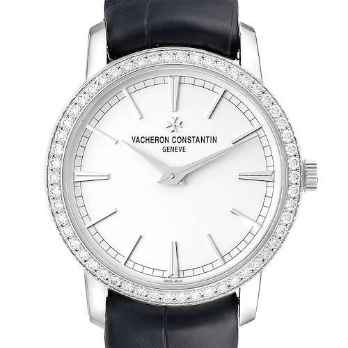 Photo of Vacheron Constantin Traditionnelle White Gold Diamond Ladies Watch 81590