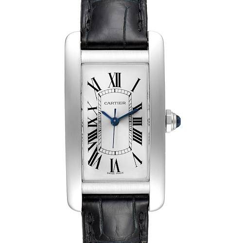 Photo of Cartier Tank Americaine Steel Ladies Watch WSTA0017 Box Papers
