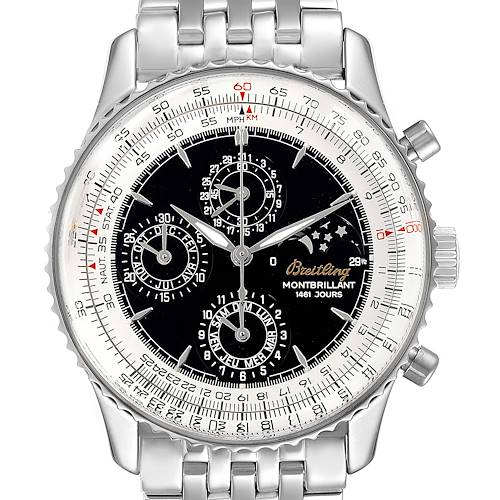 Photo of Breitling Navitimer Monbrillant 1461 Jours Moonphase Mens Watch A19030