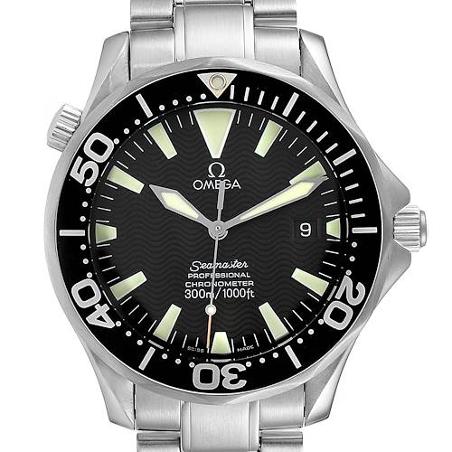 Photo of Omega Seamaster 41 300M Black Dial Steel Mens Watch 2254.50.00