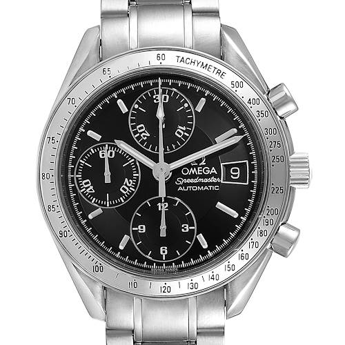 Photo of Omega Speedmaster Date 39mm Automatic Steel Mens Watch 3513.50.00 Box Card