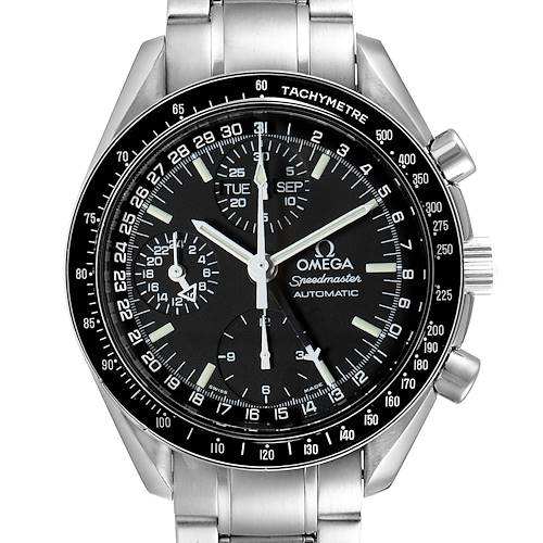Photo of Omega Speedmaster Day Date Black Dial Automatic Mens Watch 3520.50.00