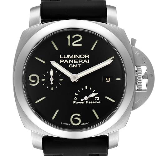 Photo of Panerai Luminor Marina 1950 3 Days GMT Watch PAM321 PAM00321 Box Papers