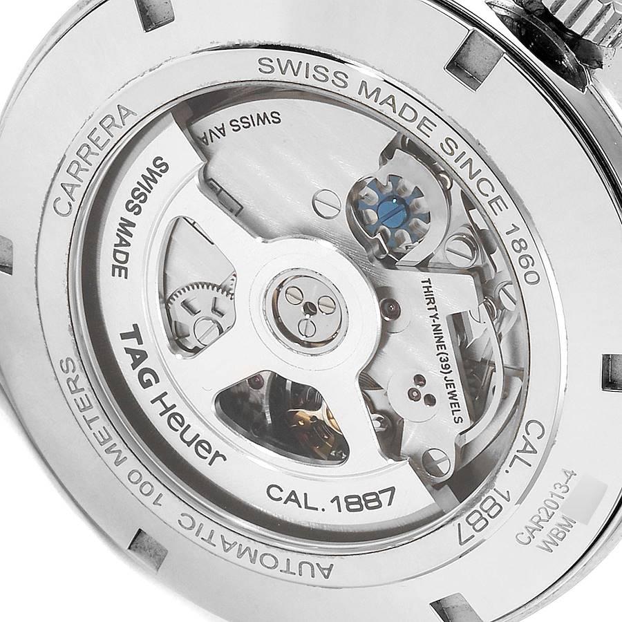 Tag Heuer Carrera 1887 Grey Dial Chronograph Mens Watch CAR2013 Box Card SwissWatchExpo