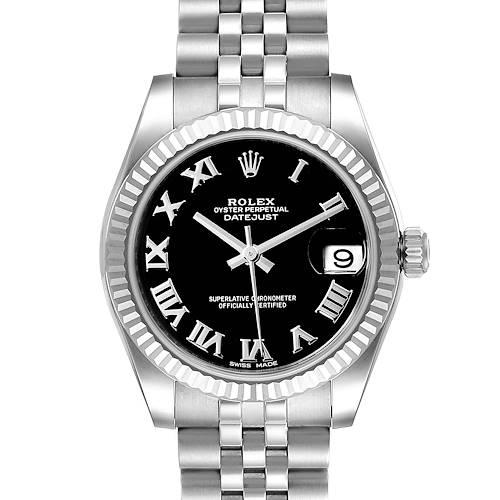 Photo of Rolex Datejust Midsize 31 Steel White Gold Ladies Watch 178274 Box Papers Unworn