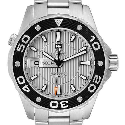 Photo of Tag Heuer Aquaracer 2000 Stainless Steel Mens Watch WAJ2111 Box