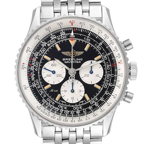 Photo of Breitling Navitimer Limited Edition 250 Steel Mens Watch A11022