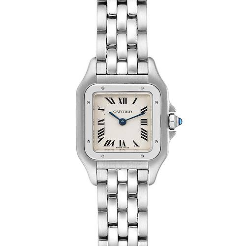Photo of Cartier Panthere Ladies Small Stainless Steel Watch W25033P5 Box