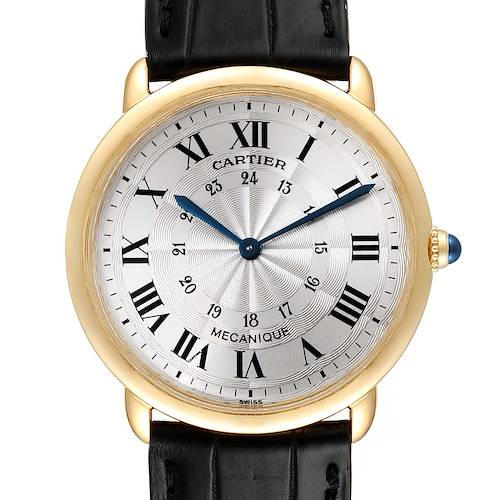 Photo of Cartier Ronde Louis 33mm Privee Collection Yellow Gold Unisex Watch 09001