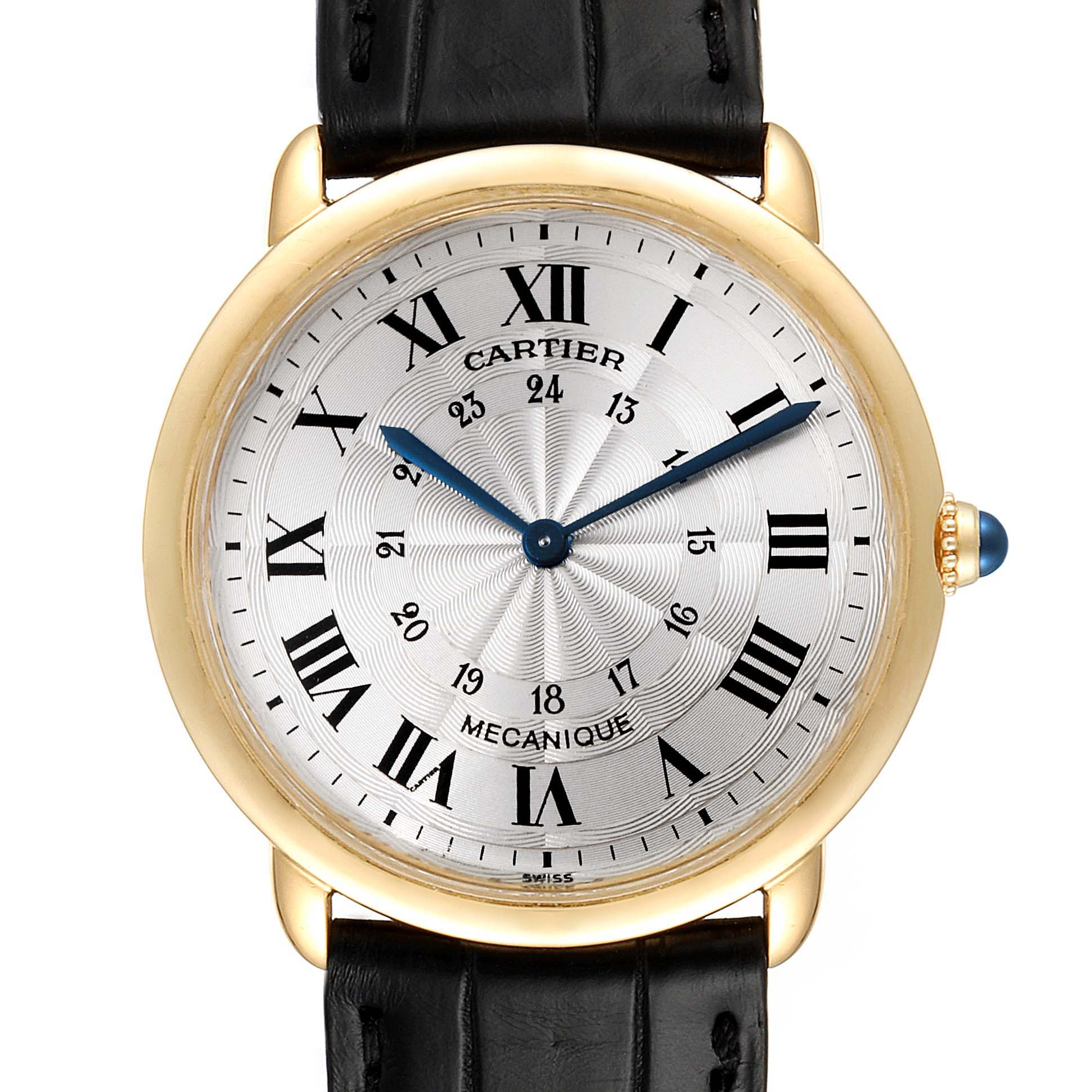 Cartier Ronde Louis 33mm Privee Collection Yellow Gold Unisex Watch 09001 SwissWatchExpo