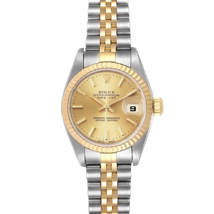 Rolex Datejust 26 Steel Yellow Gold Ladies Watch 79173 Box SwissWatchExpo