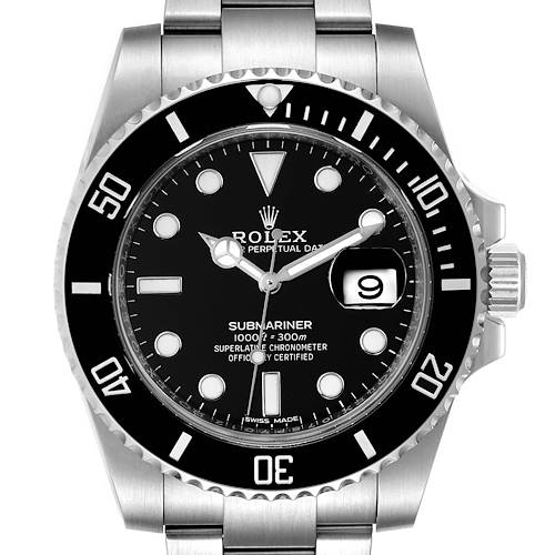 Photo of Rolex Submariner Ceramic Bezel Steel Mens Watch 116610 Box Card Unworn
