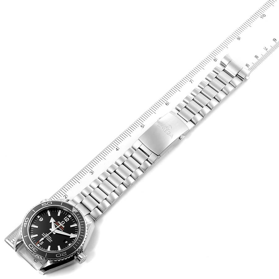 Omega Seamaster Planet Ocean 600M Mens Watch 232.30.46.21.01.001 Box Card SwissWatchExpo