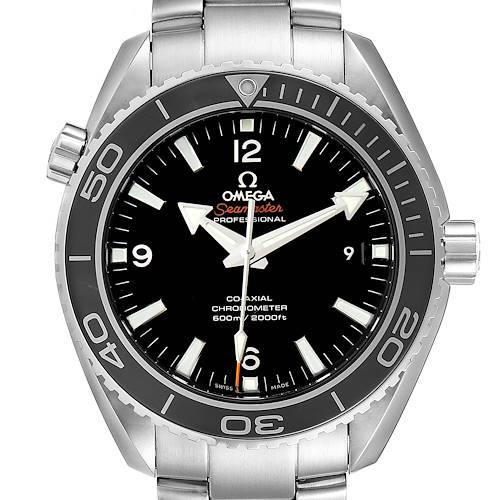 Photo of Omega Seamaster Planet Ocean 600M Mens Watch 232.30.46.21.01.001 Box Card