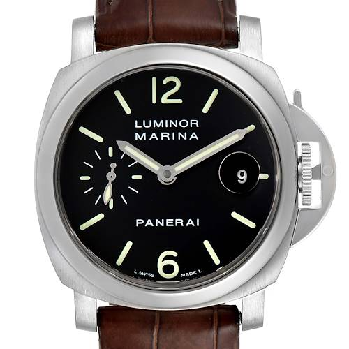Photo of Panerai Luminor Marina Automatic 40mm Watch PAM048 PAM00048 Box Papers