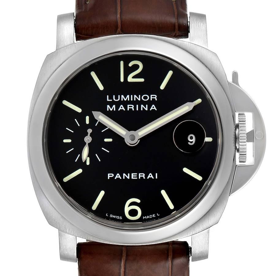 Panerai Luminor Marina Automatic 40mm Watch PAM048 PAM00048 Box Papers SwissWatchExpo