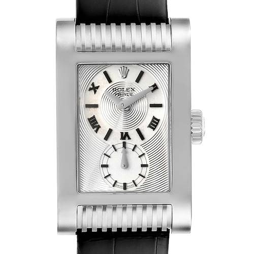 Photo of Rolex Cellini Prince White Gold Silver Dial Mens Watch 5441
